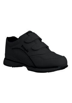 Tour Leather Sneaker by Propet®, BLACK LEATHER