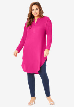 Georgette Pullover Ultra Tunic,