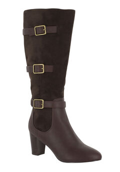Talina II Boots by Bella Vita®, BROWN BURNISH