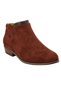 Bexley Bootie by Comfortview, BROWN, hi-res