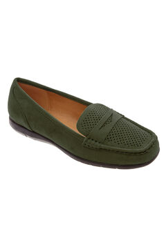 Jayda Flats by Comfortview®, DARK OLIVE, hi-res