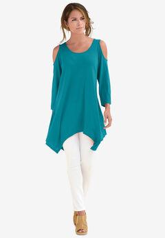 Linen-Blend Ultra Femme Tunic,