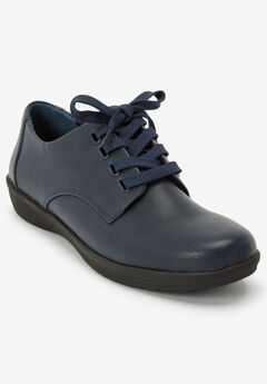 The Celinda Oxford Flat by Comfortview®, NAVY