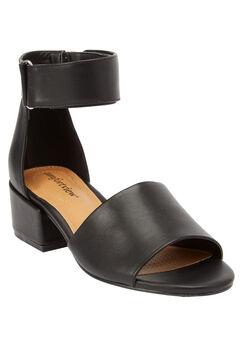 Blix Sandals by Comfortview®, BLACK, hi-res