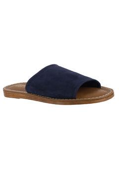 Ros-Italy Sandals by Bella Vita®, NAVY SUEDE, hi-res