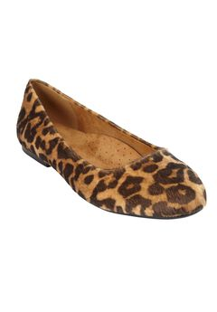 The Beth Flat by Comfortview®, LEOPARD, hi-res