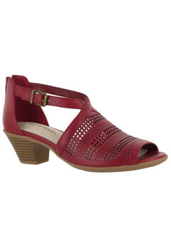 Anita Sandals by Easy Street®, RED, hi-res