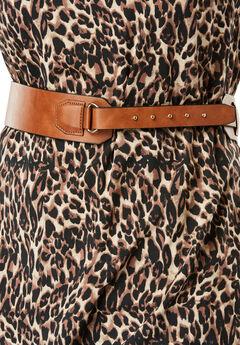 Studded Hidden Close Belt, COGNAC, hi-res
