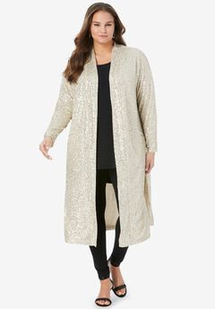 Sequin Duster,