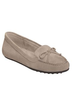Long Drive Moccasins by Aerosoles®, GREY SUEDE, hi-res