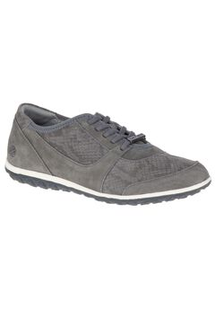Basel Audra Sneakers by Hush Puppies®, CHARCOAL SUEDE, hi-res