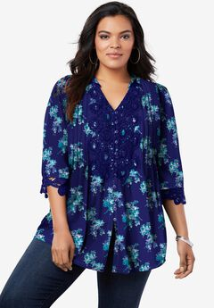 Juliet Lace Tunic,