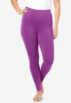Essential Stretch Legging, PURPLE MAGENTA