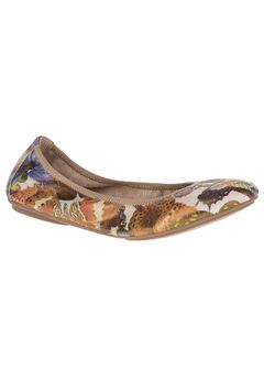 Chaste Ballet Flats by Hush Puppies®, BUTTERFLY SUEDE, hi-res