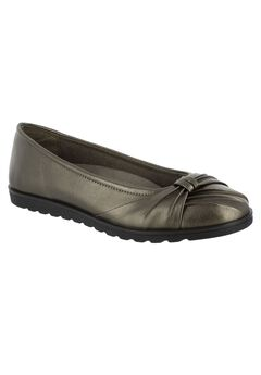 Giddy II Flats by Easy Street®, PEWTER, hi-res