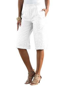 Kate Bermuda Shorts, WHITE, hi-res