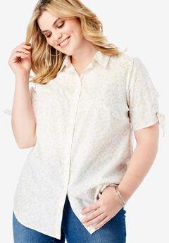 Tie-Sleeve Kate Shirt,
