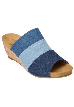 Nicoletta Sandals by Comfortview®, DENIM, hi-res