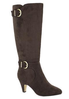 Toni II Regular Calf Boots by Bella Vita®, BROWN SUPER SUEDE, hi-res