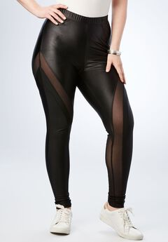 Mesh Liquid Legging,