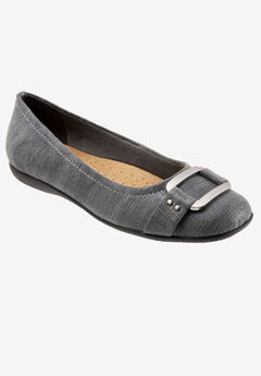 Sizzle Signature Leather Ballet Flat by Trotters®,