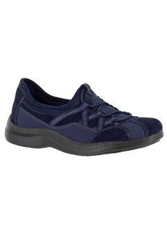 Laurel Sneakers by Easy Street®, NAVY SUEDE, hi-res