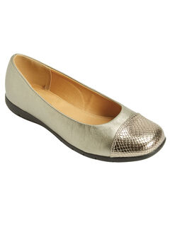 The Fay Flat by Comfortview®, PEWTER