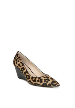 Alicia2 Pump by Franco Sarto, CAMEL LEOPARD