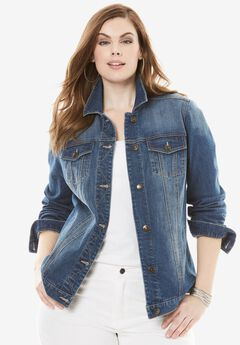 Essential Denim Jacket by Denim 24/7®,