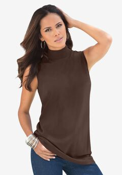 Ultimate Sleeveless Mock Tank,
