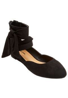 Noreen Flats by Comfortview®, BLACK