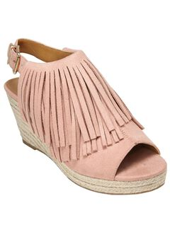 Diane Espadrille Sandals by Comfortview®, DUSTY PINK