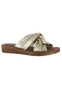 Noa-Italy Sandals by Bella Vita®, GOLD LEATHER, hi-res