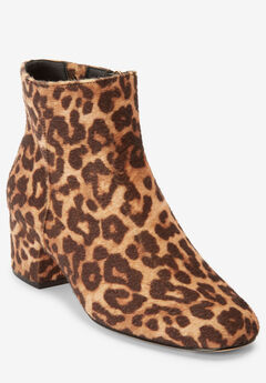 Sidney Booties by Comfortview, LEOPARD
