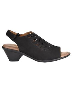 Flores Sandals by Comfortiva®, BLACK, hi-res