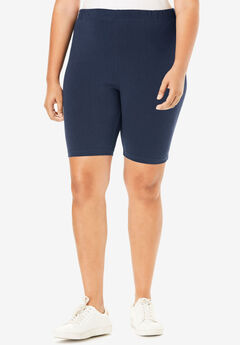 Essential Stretch Bike Short, NAVY