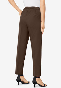 Ankle-Length Bend Over® Pant, CHOCOLATE