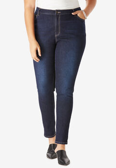 0985bf5190ea Plus Size Skinny Jeans for Women | Roaman's