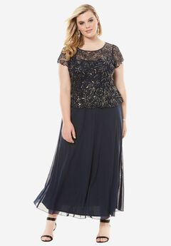 Sequin Bodice Dress by Pisarro Nights,
