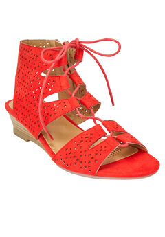 Raelyn Sandals by Comfortview®, NEW HOT RED, hi-res