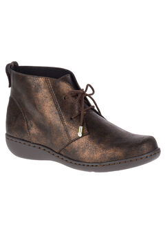 Jinger Booties by Soft Style, BRONZE METALLIC, hi-res