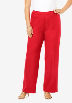 Wide-Leg Bend Over® Pant, VIVID RED