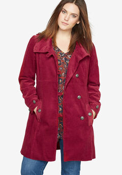 Corduroy Coat by Castaluna,