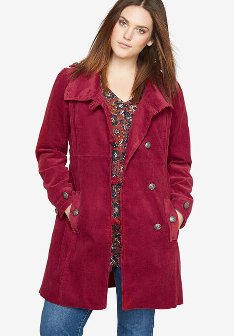 008f733f7 Corduroy Coat by Castaluna