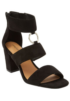 Polly Sandals by Comfortview®, BLACK, hi-res