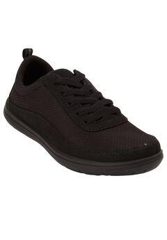 Allegra Sneakers by Comfortview, BLACK, hi-res