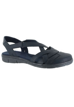 Garrett Sandals by Easy Street®, NAVY, hi-res