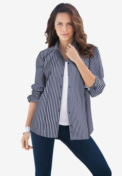 Long-Sleeve Kate Big Shirt,