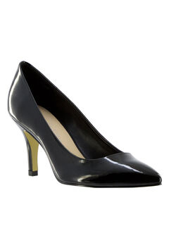 Define II Pumps by Bella Vita®, BLACK PATENT, hi-res