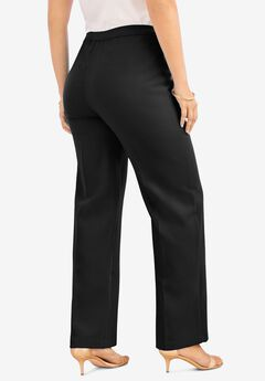 Wide-Leg Bend Over® Pant, BLACK